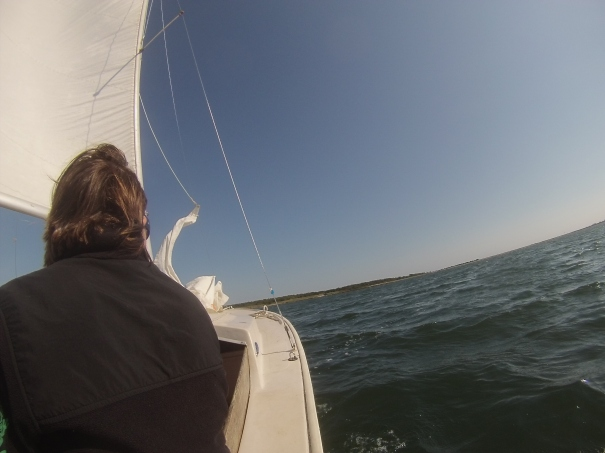Sailing on Waquoit Bay